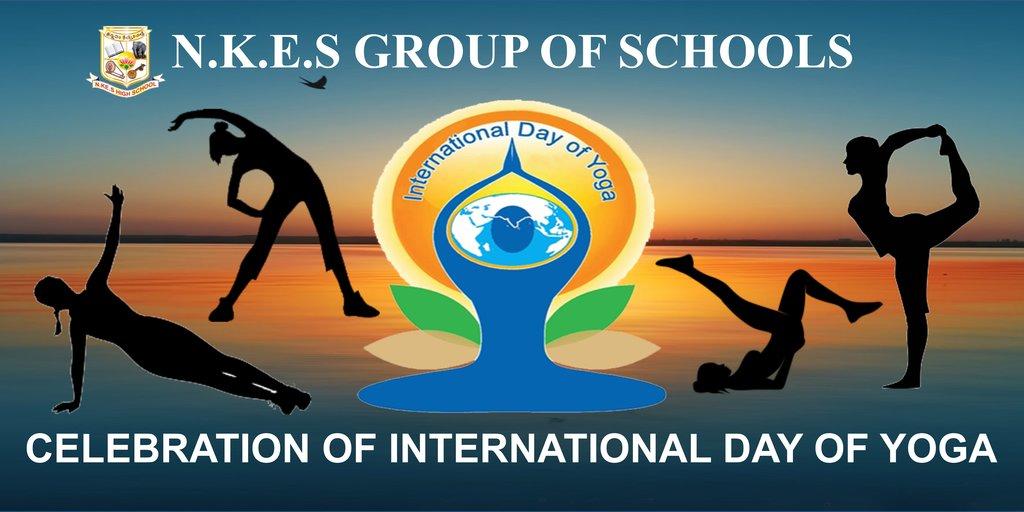 International Yoga Day 2017 National Kannada Education Society
